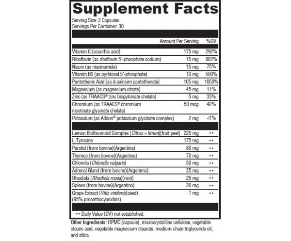 supplement facts product1