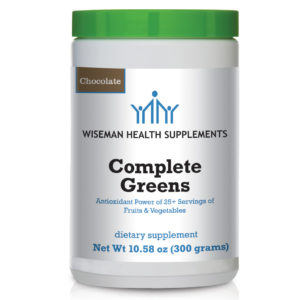 power greens chocolate