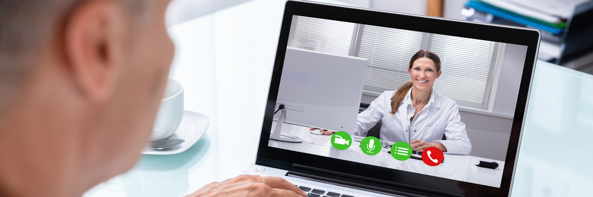 Online telemedicine appointments